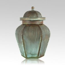 Verde Lacross Copper Cremation Urns