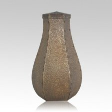 Toulouse Hammered Copper Cremation Urns