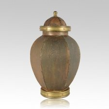 Rustic Orleon Copper Cremation Urns