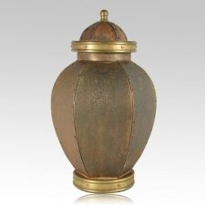 Rustic Orleon Grand Copper Urn