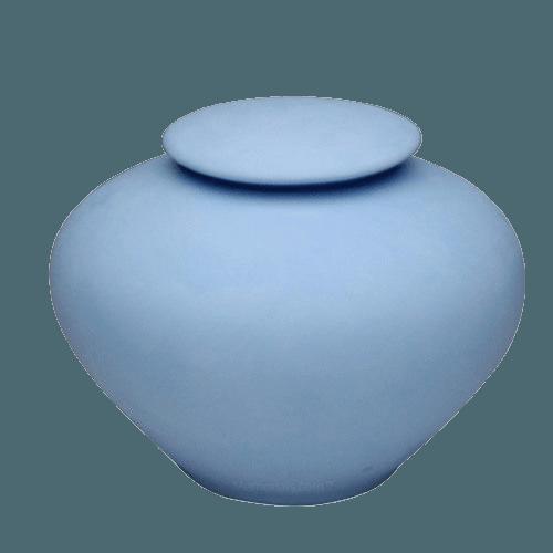 Blue Sea Large Porcelain Clay Urn