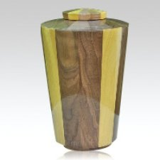 Sunshine Wood Urn