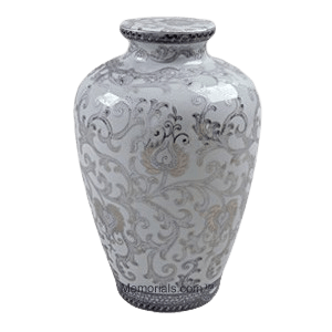 Shrine Porcelain Cremation Urn