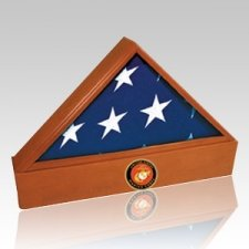 Washington Marine Cherry Flag Case & Urn