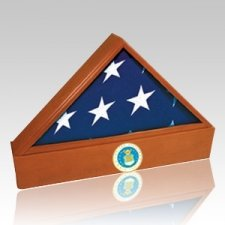 Washington Air Force Cherry Flag Case & Urn