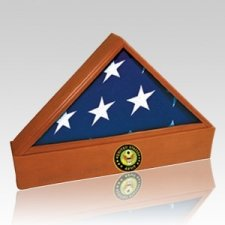 Washington Army Cherry Flag Case & Urn