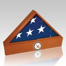 Washington Coast Guard Cherry Flag Case & Urn