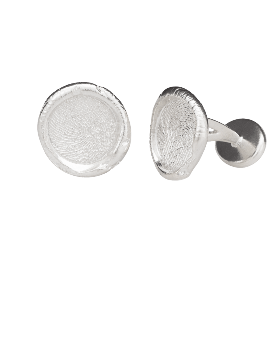 Cufflinks Print 14k White Gold Keepsakes