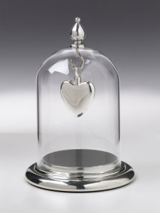 Silver Pendant Display Case