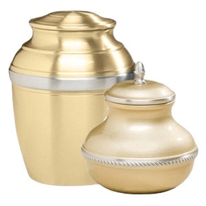 Gold Silverado Cremation Urns