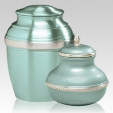 Green Silverado Cremation Urns
