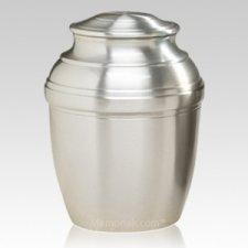 Silver Silverado Cremation Urn