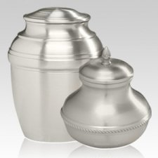 Silver Silverado Cremation Urns