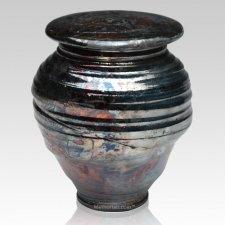 Raku Night Companion Cremation Urn