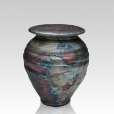 Raku Dream Small Cremation Urn