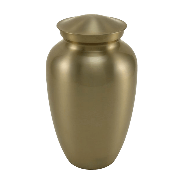 Simplicity Bronze Cremation Urn