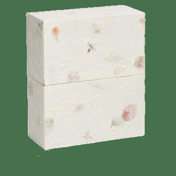 Cream Earthurn Biodegradable Cremation Urn