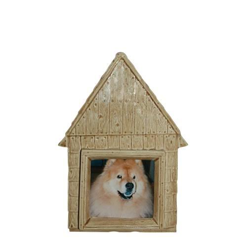Small Dog House Ceramic Urn