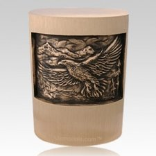 Veteran Eagle Cremation Urn