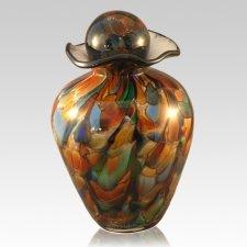 Sparkling Glass Cremation Urn