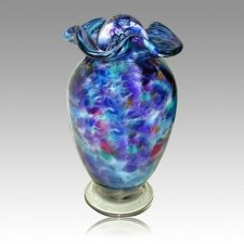 Sparkling Waters Glass Cremation Urns