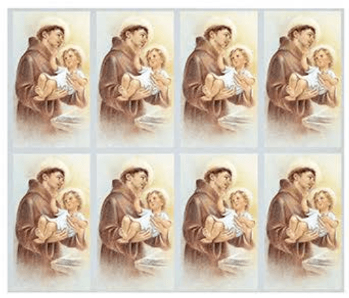 St. Anthony Prayer Cards