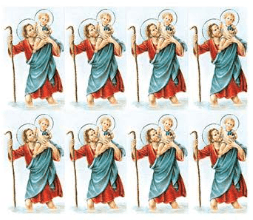 St. Christopher Prayer Cards