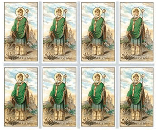 St. Patrick Prayer Cards