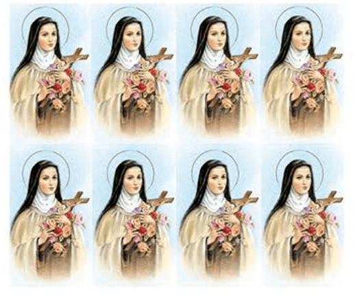 St. Theresa Prayer Cards
