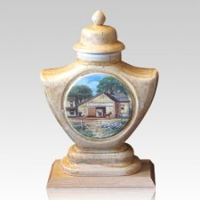 Stable Ceramic Cremation Urn