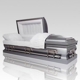 Stainless Semi-Precious Metal Caskets
