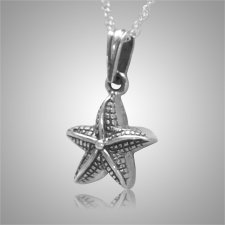 Star Fish Pet Cremation Keepsake III