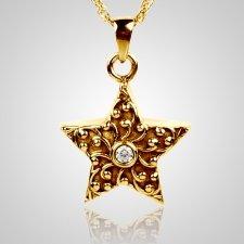 Crystal Star Keepsake Pendant IV