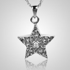 Crystal Star Keepsake Pendant III