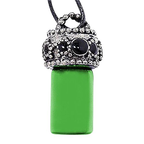 Stars Green Urn Necklace