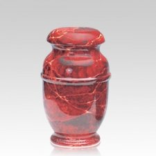 Rouge Steel Medium Cremation Urn