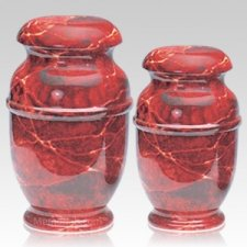 Rouge Steel Cremation Urns
