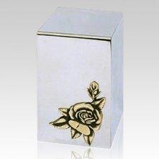 Rose Steel Cremation Urn