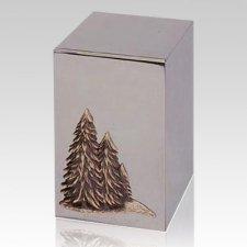 Pines Steel Cremation Urn