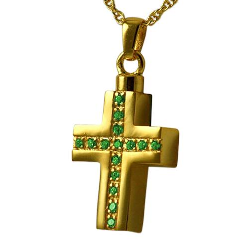 Crystal Cross Keepsake Pendant II