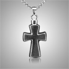 Stylized Cross Keepsake Pendant