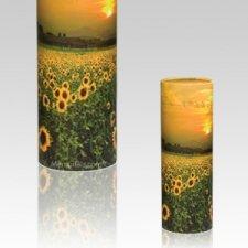 Sunflower Scattering Mini Biodegradable Urn