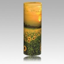 Pet Sunflower Biodegradable Scattering Urn