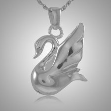 Swan Cremation Jewelry