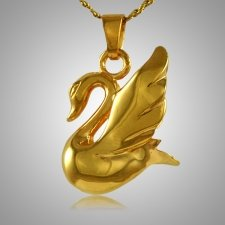 Swan Cremation Jewelry II