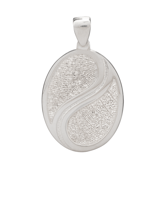 Swirl Print Keepsake Pendants