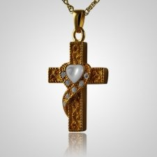 Swirl Cross Keepsake Jewelry II