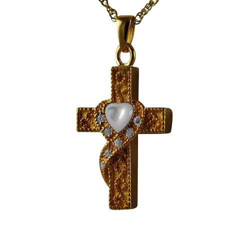 Swirl Cross Keepsake Jewelry IV