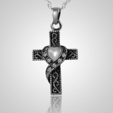 Swirl Cross Keepsake Jewelry III