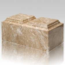 Syrocco Marble Companion Cremation Urn